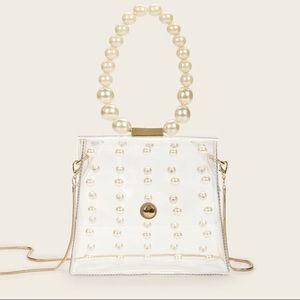 Transparent Pearl Bag